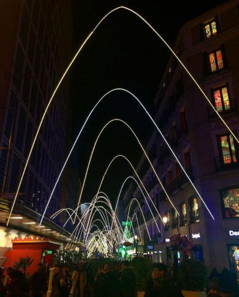 luces navidad madrid 2017