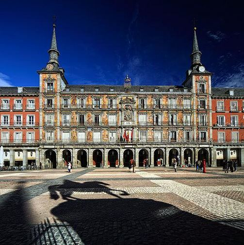 Plaza mayor de madrid arquitectura e historia for Arquitectura 20 madrid
