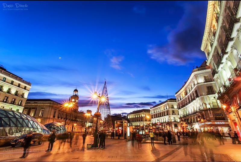 Madrid puerta del sol for Puerta de sol en directo